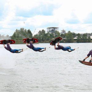 wakeboard, saut