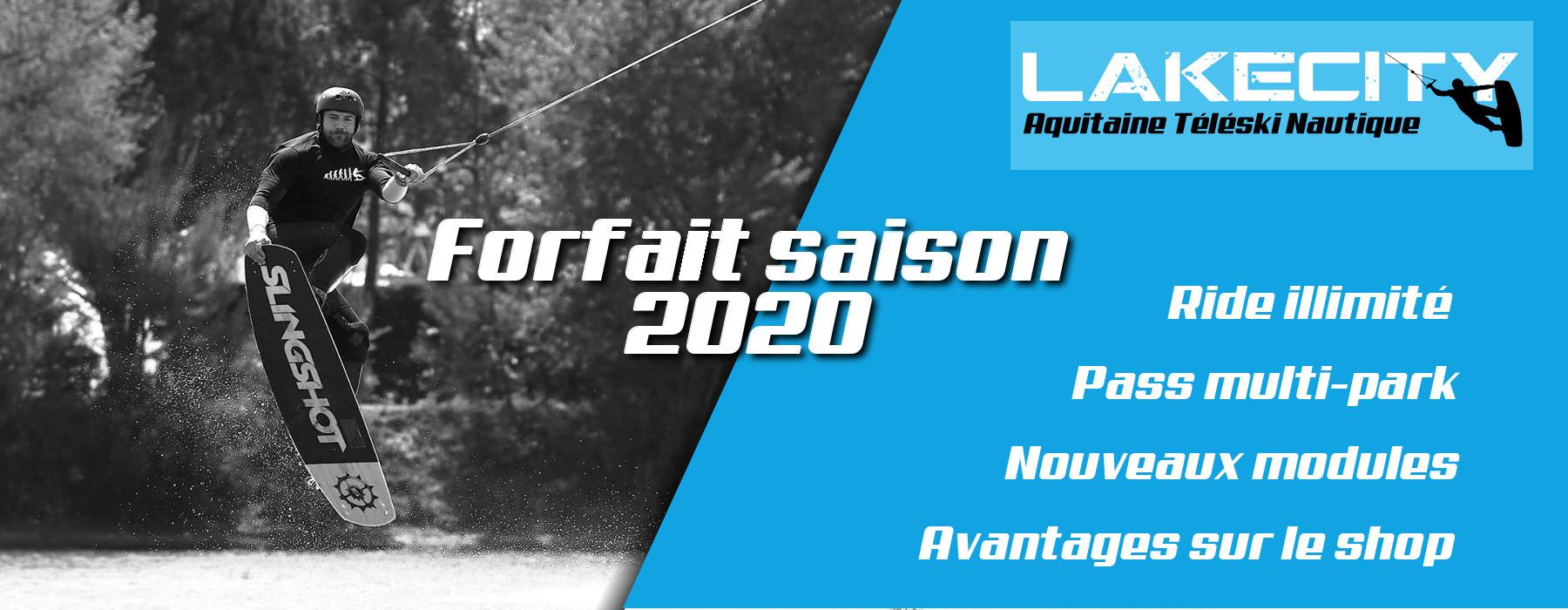 forfait saison 2020 wakeboard lakecity